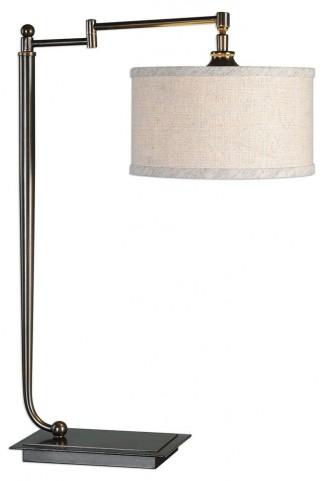 Lamine Dark Bronze Desk Lamp