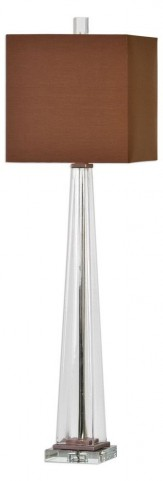 Rivanna Clear Glass Buffet Lamp