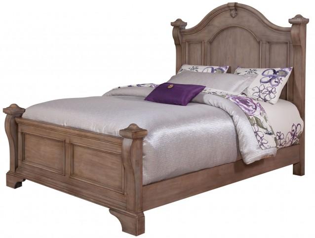 Heirloom Pewter Queen Poster Bed