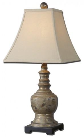 Valtellina Taupe Gray Buffet Lamp