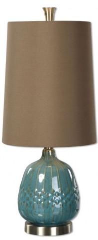 Casaletto Blue Ceramic Lamp