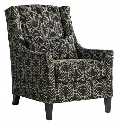 Faraday Metallic Accent Chair