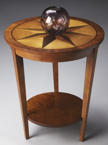 Loft Honey Accent Table