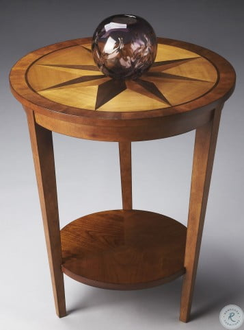 Loft Honey Accent Table