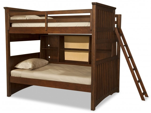 Dawsons Ridge Twin over Twin Bunk Bed with Bedside Storage