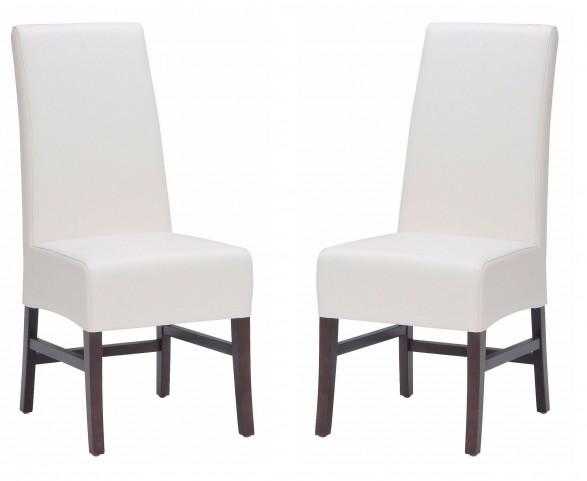 Habitat Ivory Dining Chair Set of 2