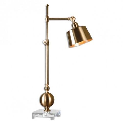 Laton Brushed Brass Task Lamp