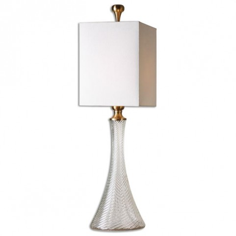 Ballina Fluted Glass Table Lamp