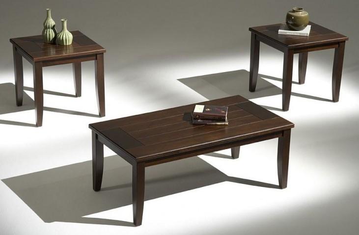 Sanibel Sable 3 Piece Occasional Table Set
