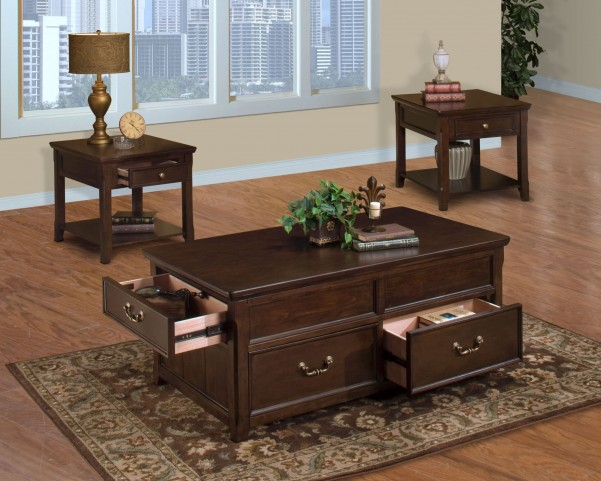 Timber City Occasional Table Set