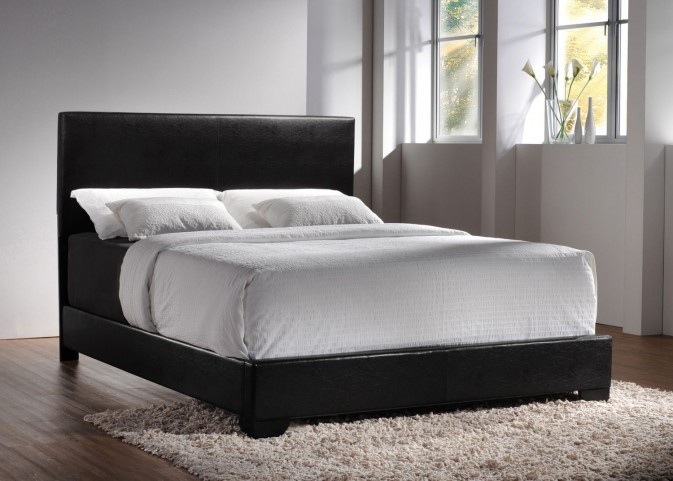 Conner Black Full Platform Bed