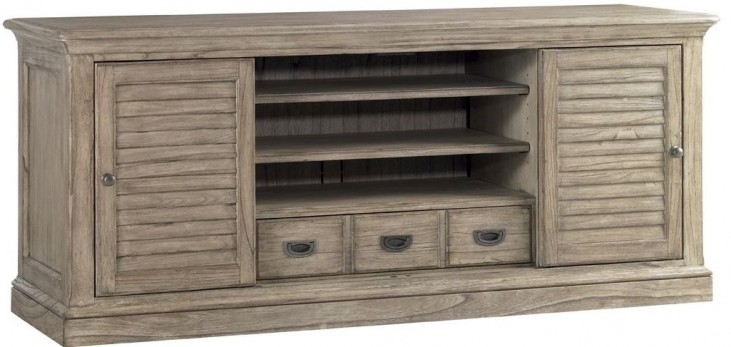Barton Creek Driftwood Patina Bullock TV Console
