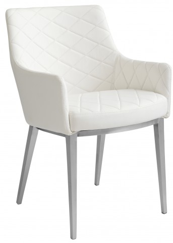 Chase White Armchair
