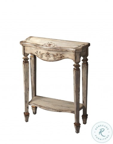 Guilded Cream Console Table