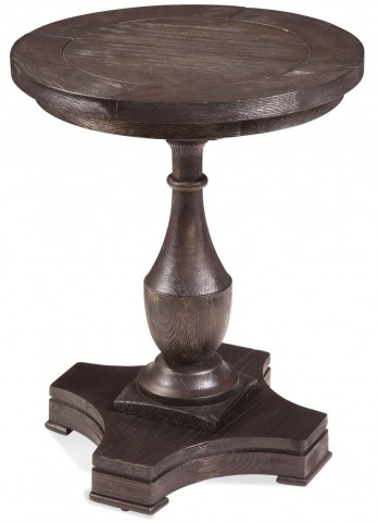 Hanover Coffee Bean Round End Table
