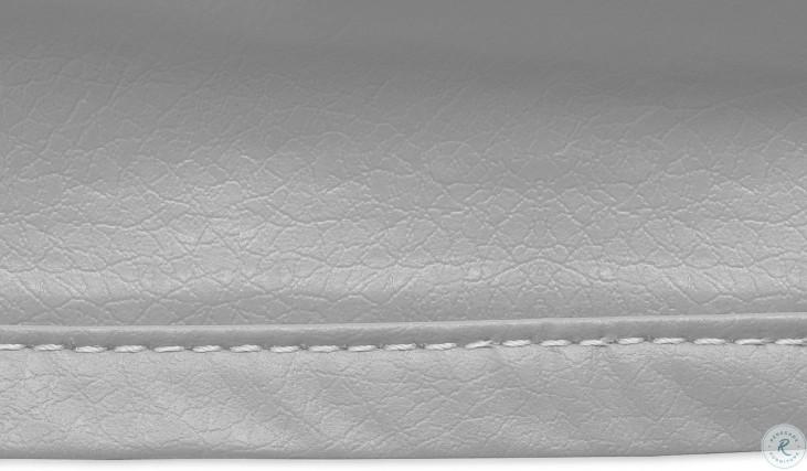 Gray Small Outdoor Ottoman Cover