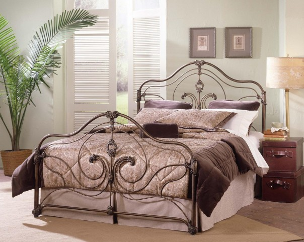 Provence King Panel Bed