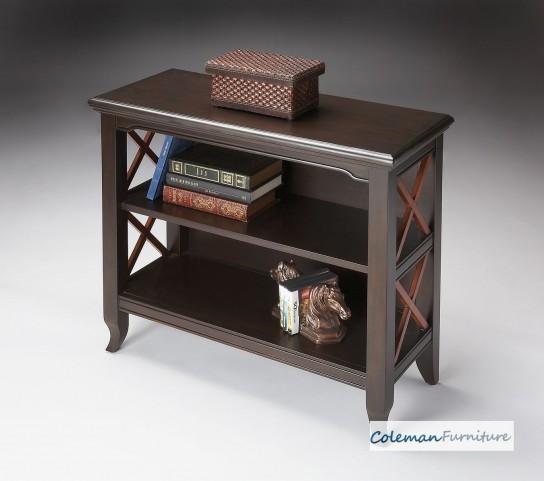Newport Loft Transitional Cherry Low Bookcase