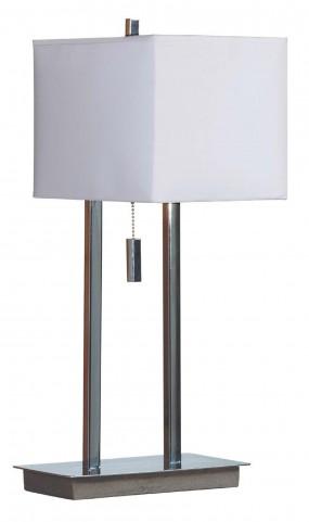 Emilio Chrome Accent Lamp