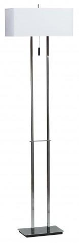 Emilio Chrome Floor Lamp