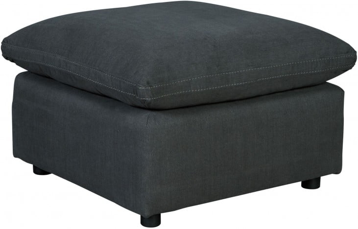 Savesto Charcoal Oversized Accent Ottoman From Ashley Coleman