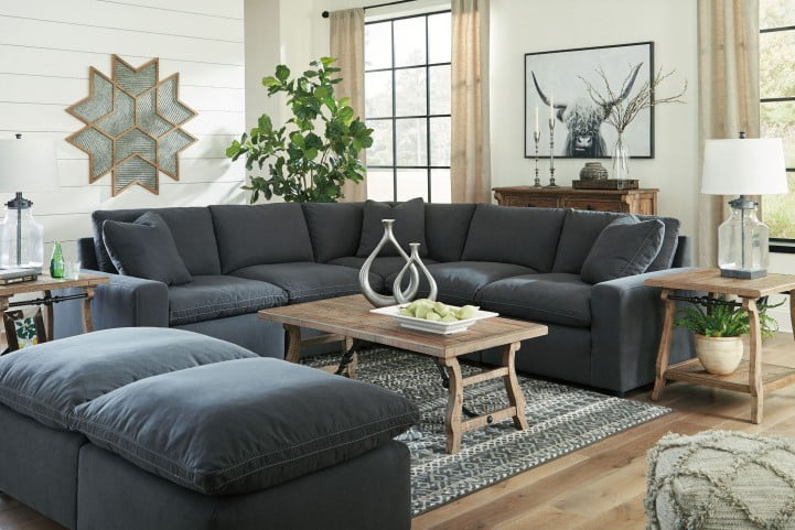 Amazing Savesto Charcoal Sectional Download Free Architecture Designs Xerocsunscenecom