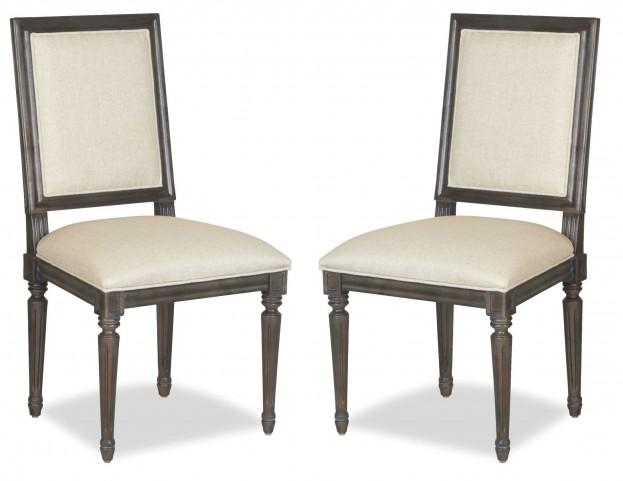 Curated Berkeley3 Brownstone Bergere Chair Set of 2