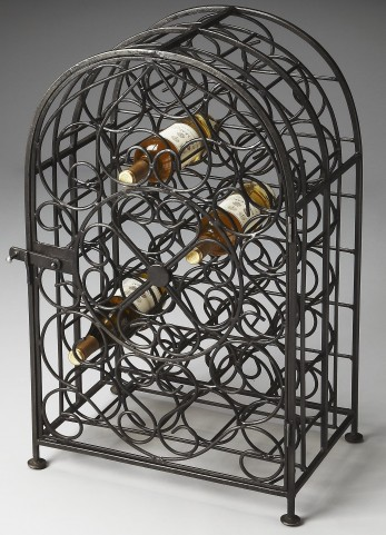 Clybourn Industrial Chic Metalworks Wine Rack