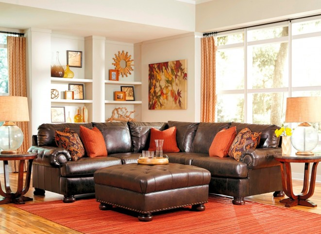 Nesbit DuraBlend Antique LAF Sectional