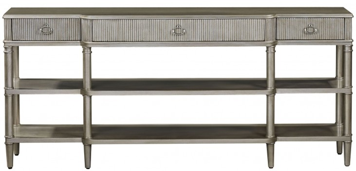 Vanesta Silver Breakfront Console Table