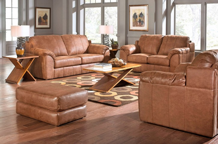 Sullivan Nutmeg Living Room Set