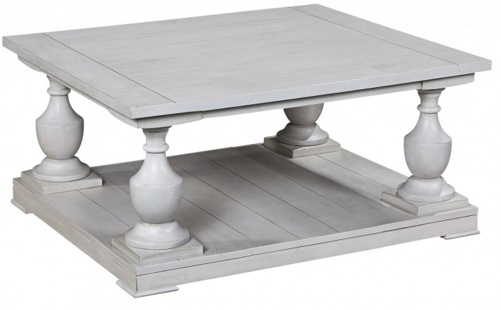 Holden Antique White Square Cocktail Table