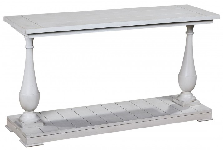 Holden Antique White Console Table