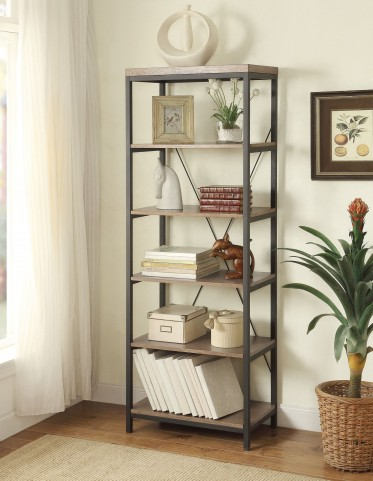 "Daria Grey 26"" Bookcase"