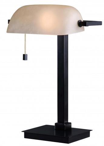 Wall Street Oil Rubbed Bronze Desk Lamp