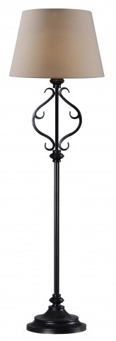 Clairmont Outdoor Solar Floor Lamp