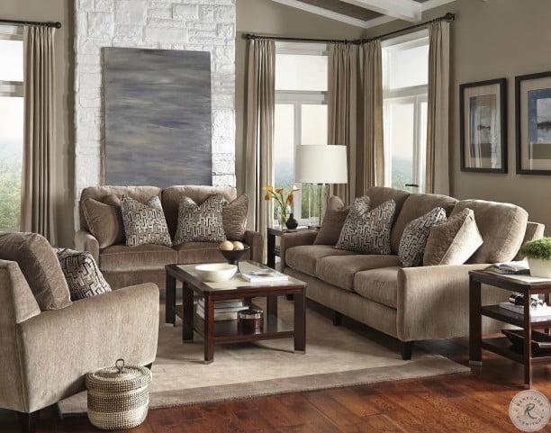 Pleasing Mulholland Taupe Living Room Set Interior Design Ideas Apansoteloinfo