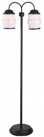 Killian Bronzed Graphite Outdoor Floor Lamp