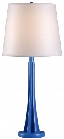 Swizzle Blueberry Table Lamp
