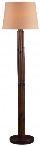 Panda Bamboo Outdoor Floor Lamp