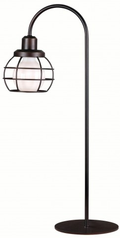 Caged Oil Rubbed Bronze Table Lamp