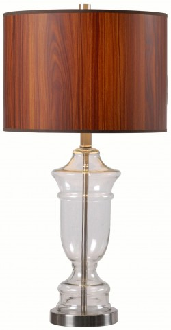 Bray Clear Glass Table Lamp
