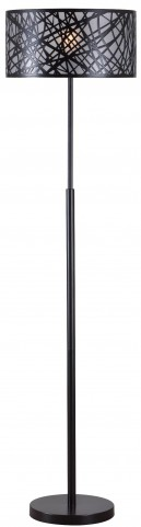 Bramble Black Floor Lamp