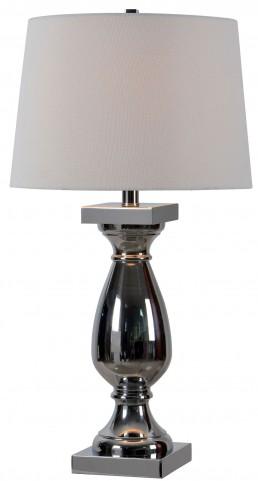 Antoine Chrome Table Lamp