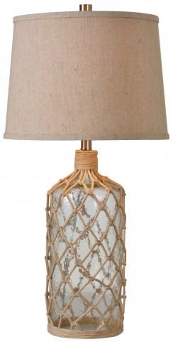 Captain Glass And Rope Table Lamp