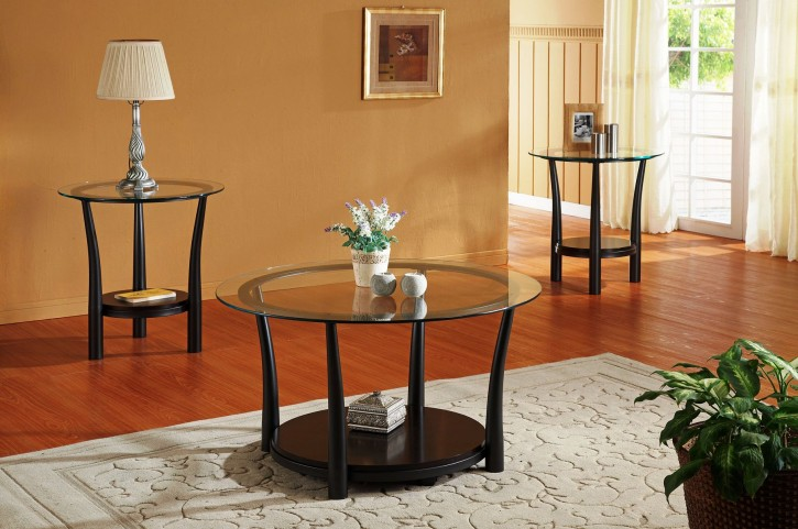 Laurie 3 Piece Occasional Table Set