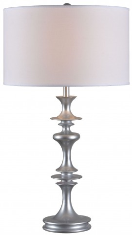 Colette Silver Gloss Table Lamp