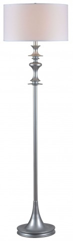 Colette Silver Gloss Floor Lamp