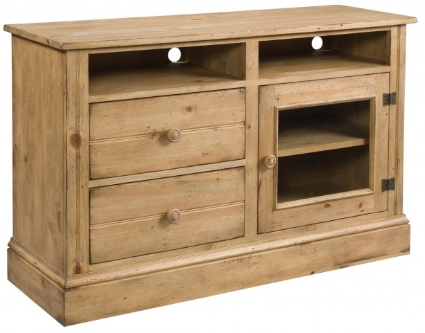 Homecoming Vintage Pine Console