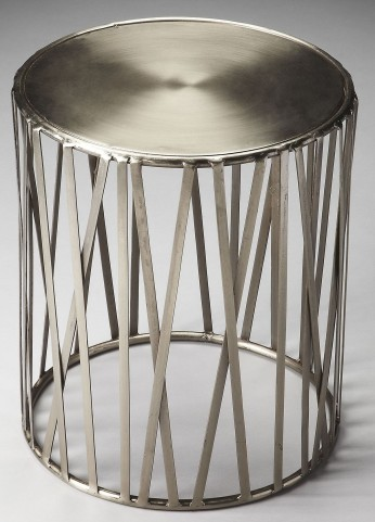 Kruse Industrial Chic Metalworks Drum Table